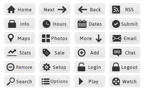 Buttons are the most effective way to encourage user interaction...make sure your site has them!