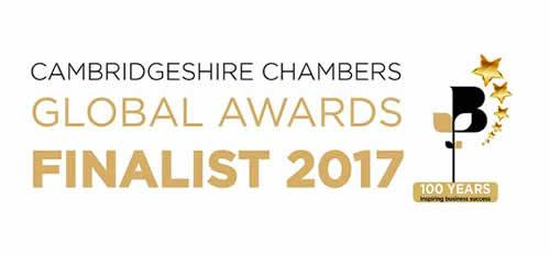 Realnet were shortlisted as finalists in Cambridgeshire's Chambers of Commerce Global Awards