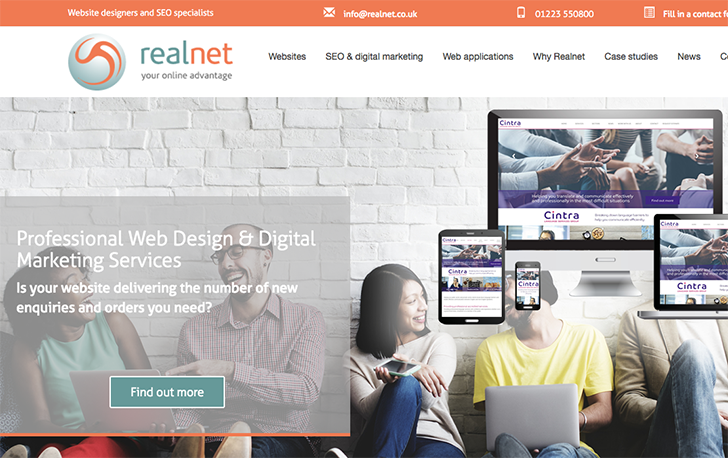 The first three months of 2017 have seen exciting website launches for a range of Realnet clients.