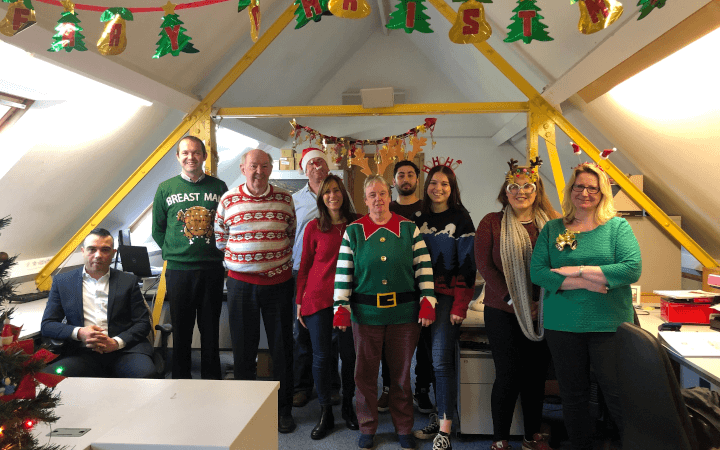 Realnet are taking part in Save The Children's Christmas Jumper Day and supporting their cause.