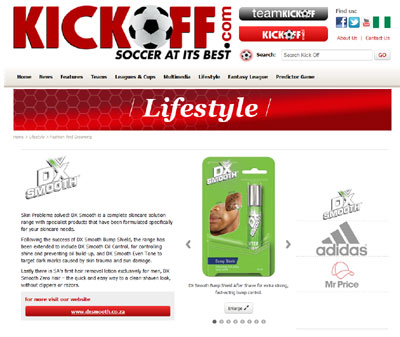 Kickoff.com, South Africas premier football news website, have announced their latest acquisiton