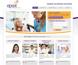 Apex needed to inject some fresh style and function into their website| to improve its wellbeing