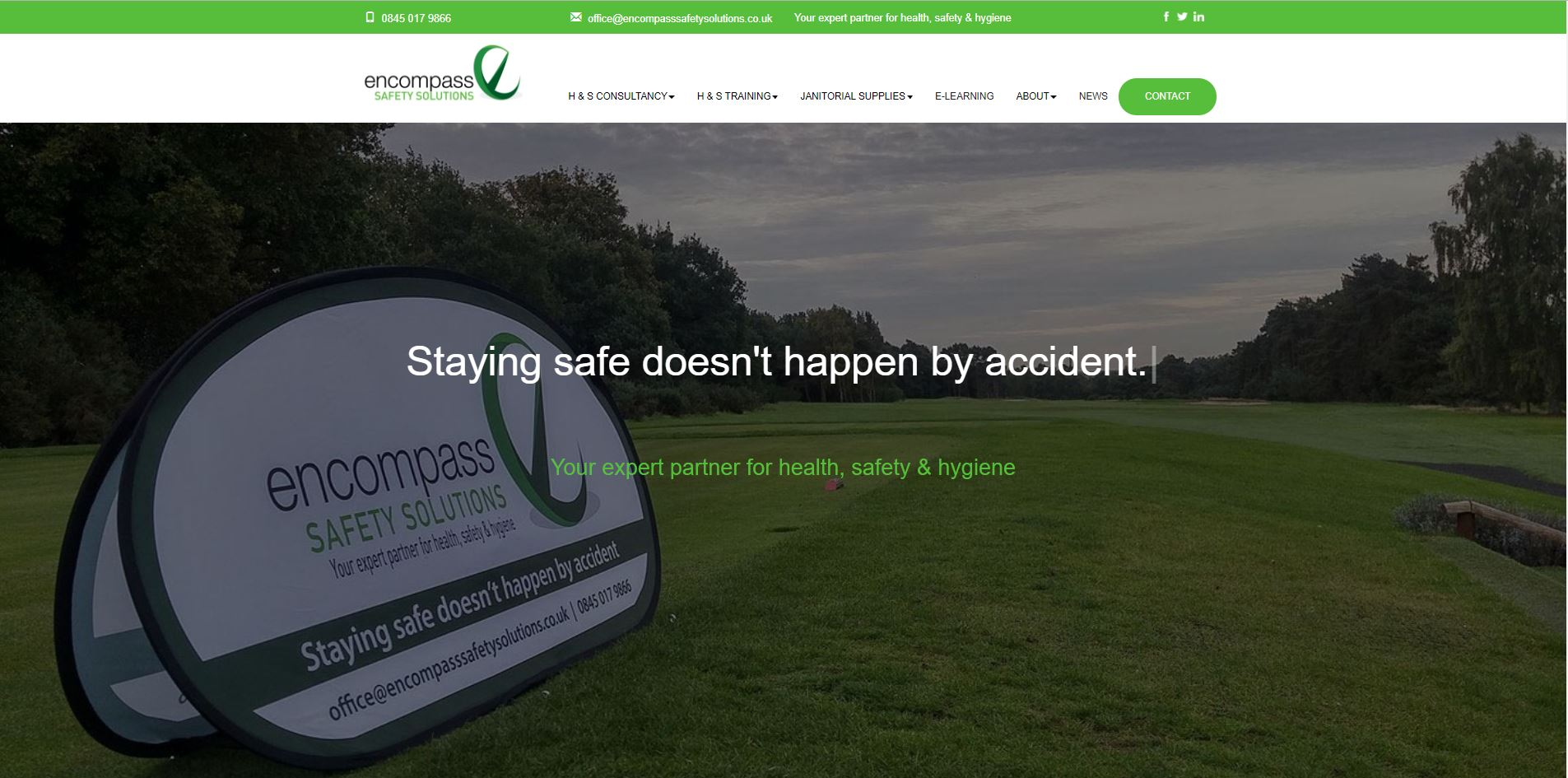 Encompass Safety Solutions new website is live and ready to generate enquiries!
