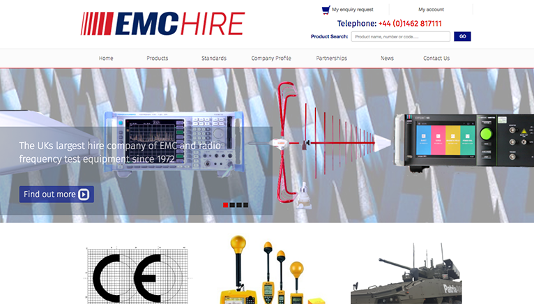 EMC Hire's new website breathes new life into a complex solution