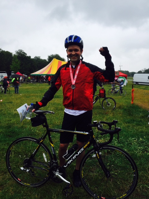 Realnet director Kari Sewell and friends teamed up to complete the London to Cambridge cycle event