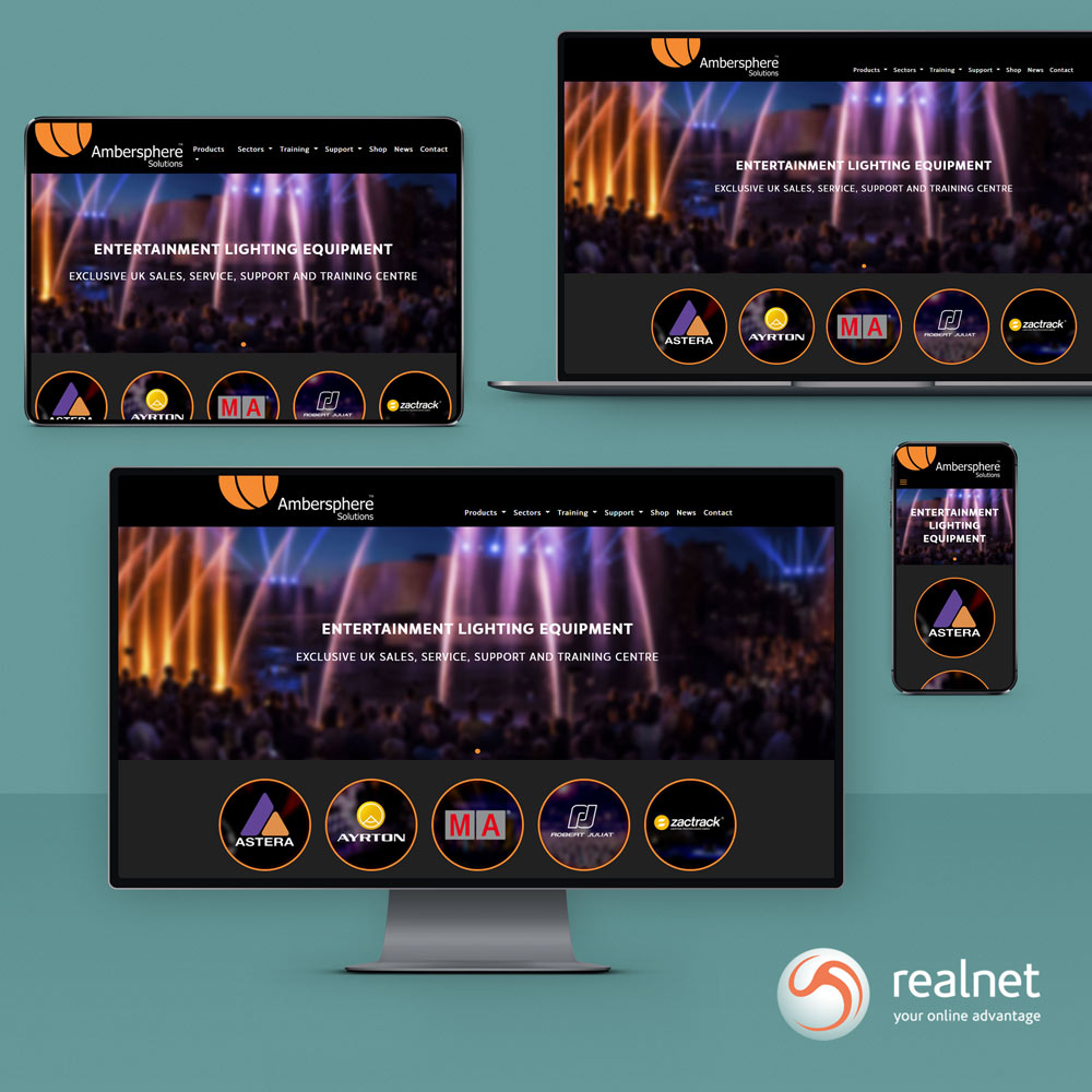 Realnet is very pleased to announce the launch of a new website for our client Ambersphere.